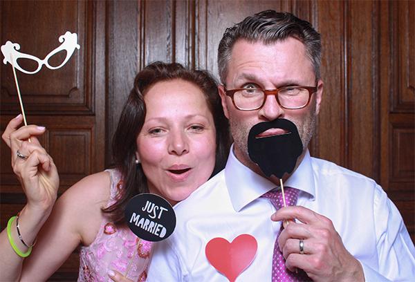 Just married Fotobox