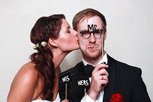 Die Fotobox auf der Hochzeit