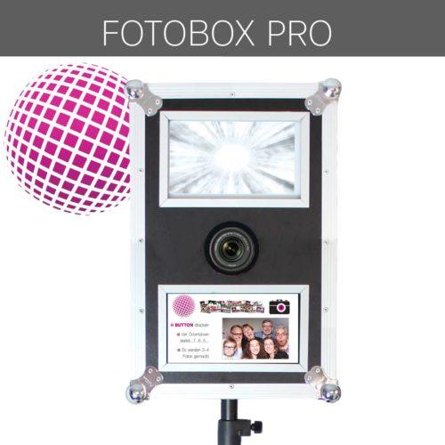 Fotobox Touchscreen