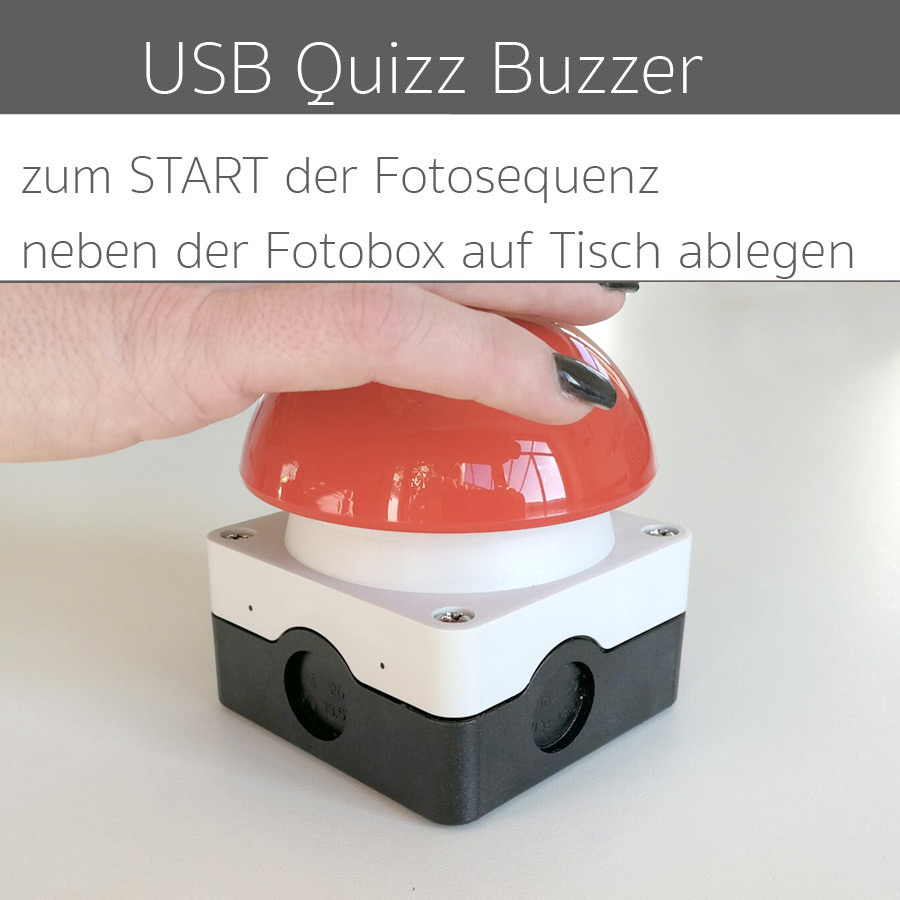 Fotobox Quizz Buzzer Photobuzzer