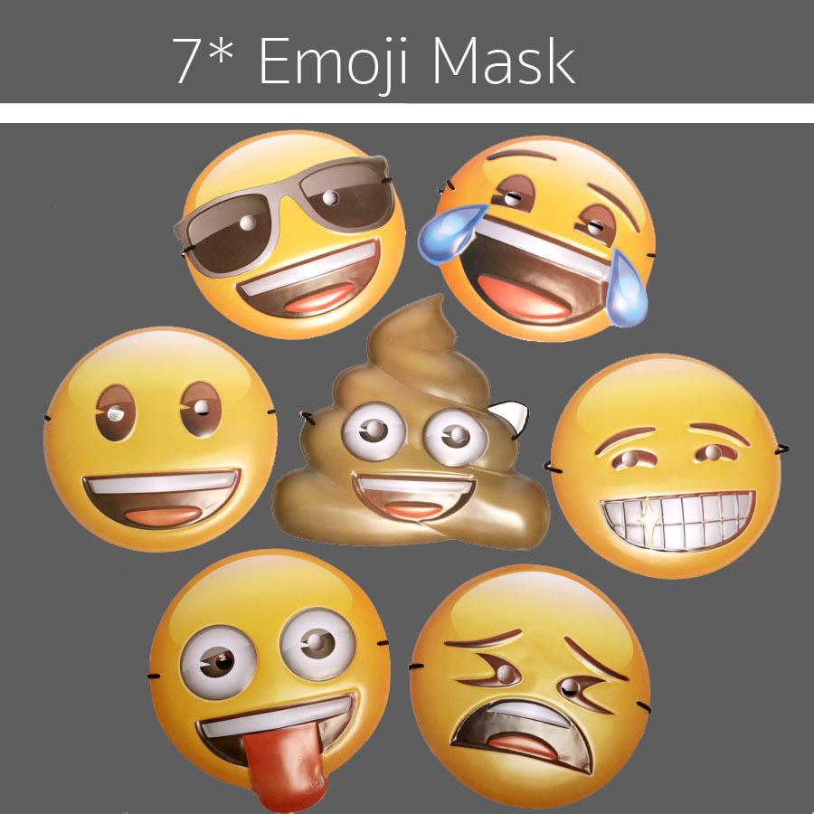 7 emoji masken die fotobox von den eventhelden. Black Bedroom Furniture Sets. Home Design Ideas