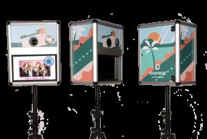 Event Fotobox für die Firmenfeier mit Branding