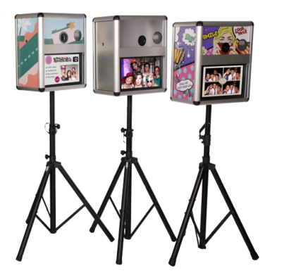 Fotobox Branding im individuellen Design