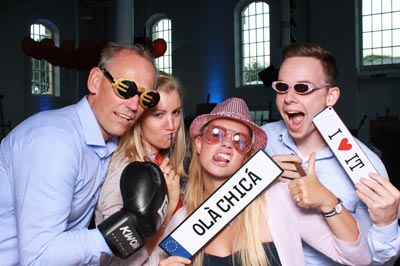 Boxing Fun mit der Photobooth