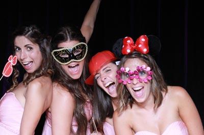 Fotobox mit 4 coolen Mädels