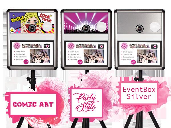 Fotobox mit individuellem Branding